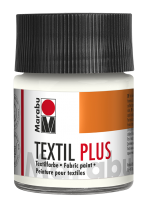 Marabu Textil plus 15 ml - white 070