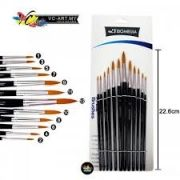 Acrylic brush set 5 pcs