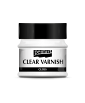 Clear varnish solvent-based 50 ml - gloss
