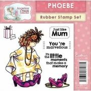 Rubber stamp - Phoebe - 100x100 mm