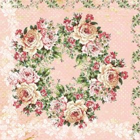 Design Paper Iced Rose Garden 30x30 - MAD2001-11
