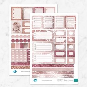 Planner Stickers Pink Treasure