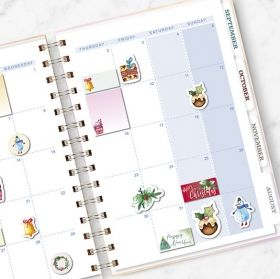 Planner Stickers Christmas Fairy Tale
